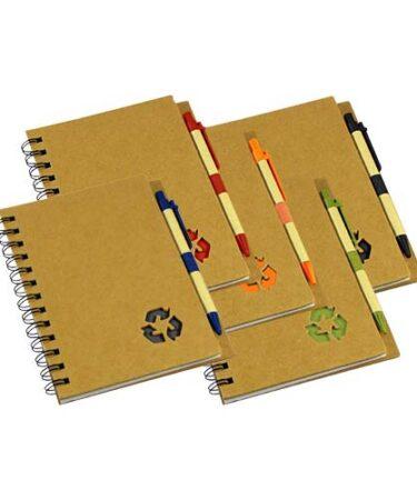 Cuaderno Ecológico con Tapas Duras