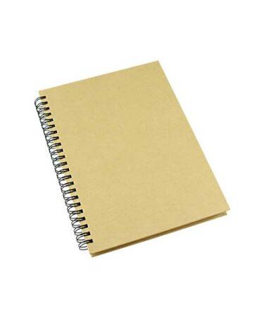 Cuaderno Ecológico con Tapas Duras de Cartón